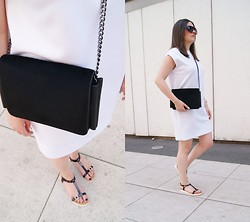Kasia W - Mango Bag, Gino Rossi Sandals - For The Hot Days