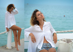 Elena Gilka - Chic Wish Chicwish, Choies, Asos - The sea!