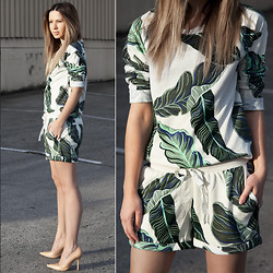 Friend in Fashion * - Palm Tree - PRINT ON PRINT