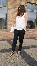 Kasia W - Zara Top, H&M Pants, Parfois Bag - The Last From Holidays