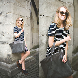 TIPHAINE MARIE - Dress, Bag, Shoes, Sunnies - Sailor.