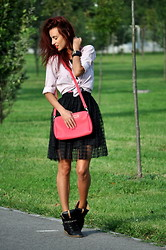 I dare you To be fashion - Skirt, Bag - Back to school
