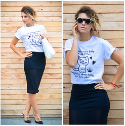 Elena Gilka - Hicustom, Asos, Martofchina, Chic Wish Chicwish - Cat!