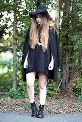 Rianna Bowles - Zara Coat And Dress, H&M Hat - Four Nine