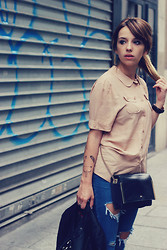 Clémentine Collinet - Pepaloves Blouse, Sheinside Jeans - Welcome September !