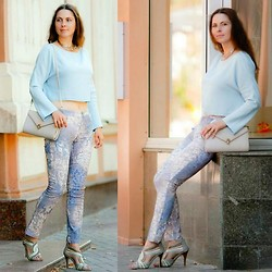 Oksana -  - Have you seen her dressed in blue?