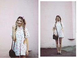 ♡Anita Kurkach♡ - Asos Bag, Black Five Dress, New Look Shoes - Lorde – Everybody Wants To Rule the World