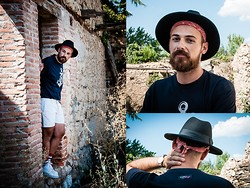 Jeffrey Herrero - Primark Fedora Hat, Zippdesign T Shirt, H&M Short, Nike Sneakers - Live Dreams