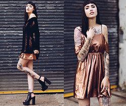 Jane Dean - Www.Keroldapparel.Com Dress, Shoes, Romwe Sweater - Fight for what you fu*king love..