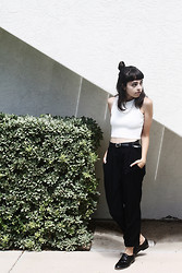 Taylor Balding - Oasap Top, American Apparel Pants, Hudson Shoes - Blank
