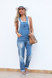 Style Statement By Cláudia - Pimkie Overall, Primark Hat, H&M Sneakers - ALL ABOUT OVERALLS