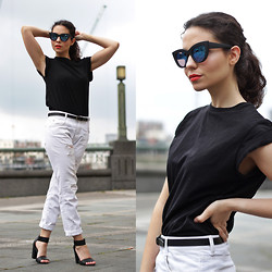 Jasmin - Asos T Shirt, Asos Belt, Zara Jeans, H&M Sandals, Asos Sunglasses - Branching Out