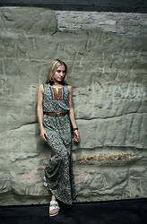 Jessica Christ - Fizzen Maxi Dress - Tribal