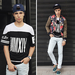 Ayoub Mani - Adidas Cap, Zara Tshirt, Cheap Monday Pant, Nike Rush - UNTITLED BOY