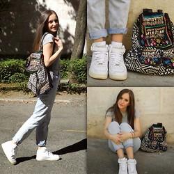 Lill Christin M Zign Over Knee Boots, Bik Bok Pants, H&M
