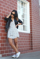 Arizka Sehoko - Missguided Jacket, Missguided Dress - Checked out