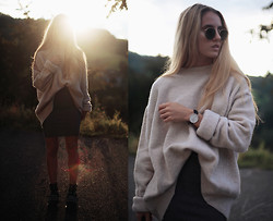 Jessica Christ - Daniel Wellington Classic Sheffield Lady - Calvin Harris - Blame