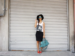 Patricia Prieto - Profound Aesthetic Tank Top, Balenciaga Bag, Kate Spade Sneakers - Somebody Loves You