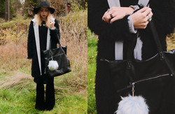 Catarina S. - Lindex Hat, River Island Pom Pom Keyring, Pieces Bag, Karmaloop Leggings, Minimum Jacket/Coat, Vero Moda Shirt, Carlings Dress, Cubus Necklace, Topshop Rings - ► All About That Bass - Meghan Trainor
