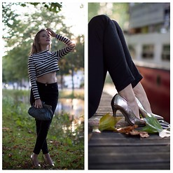 Agata Solak - H&M Top, River Island Jeans, Primark Shoes - Golden hour