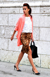 I dare you To be fashion -  - Animal print skirt