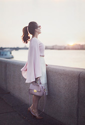 Vita K. - River Island Skirt - Sunset Moments