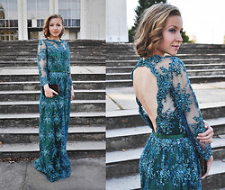 Natalie Savchenko - Zara Clutch - Dress to impress