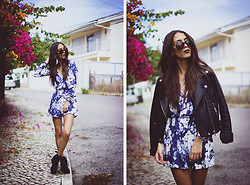 Sofia Reis - Zerouv Sunnies, Missguided Playsuit, Missguided Boots - WINTER GARDEN
