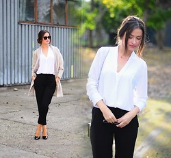 Magdalena S - Mohito Blouse, H&M Pants - The best combination