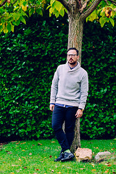 Jeffrey Herrero - H&M Sweater, Ecco Shoes - New Season