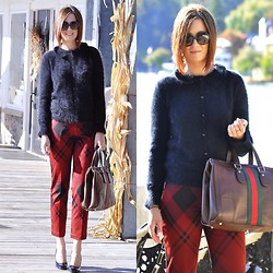 Monika S - Gucci Sweater, Gucci Pants - Gucci kind of day