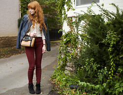 Rebecca Fear - Forever 21 Jacket, Pacsun Jeans - Let's break the window panes