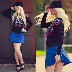 Oksana Orehhova - Breakicetrends Sweater, Breakicetrends Skirt - AGENT KITTY
