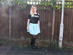 Courtney Melville - Select Top, Frontrowshop Skirt, River Island Shoes - Remember me for centuries