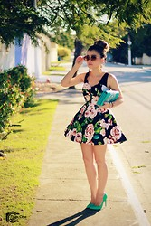 Leticia Oliveira -  - Floral Dress Chicwish