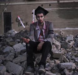 Bobby Raffin - Diy And Thrifted Graduation Outfit - The Walking Debt