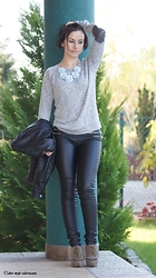 Magdalena -  - Grey sweater