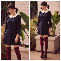 Amy Roiland - Nasty Gal Dress - It's Ms. Wednesday Adams to YOU!