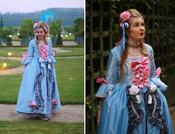 Dayskyfairy M - Milanoo Necklace, Dress Own Design / Maomelody - Marie Antoinette in Orangerie de Versailles