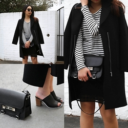 Kristy Wu -  - Mules + Stripes