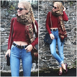 Marta M - Missguided, Primark, Justfab - Burgundy