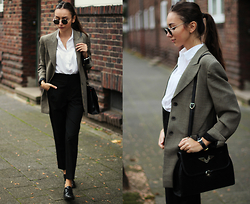 Bea G - Blazer, Shirt, Trousers, Bag, Shoes - Aviator