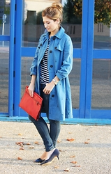 A TRENDY LIFE - Pepa Loves Trench, Mango Jeans, Parfois Clutch, Maria Mare Zapatos - Trench y Paris