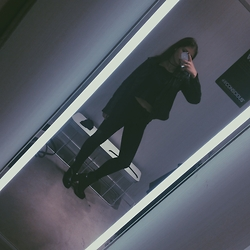Daria Danilevich - H&M Jeans, H&M Top, H&M High Heeled Boots, H&M Jacket - Stolen heart
