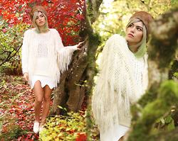 Alanna Durkovich - Chic Wish Shaggy Sweater, Chic Wish Melted Skirt, Iweartheheadress Vintage Fur Hat - All About Shagging