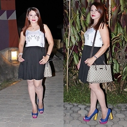 Nancy Drew - Gucci Hand/Sling Bag, For Me Dress, Primadonna Platform Pump - Oh My Gucci