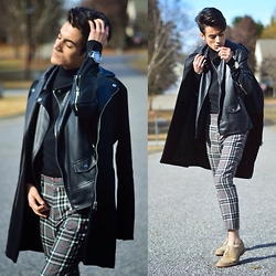 Armando Maldonado - H&M Coat, Zara Jacket, Forever 21 Turtleneck, Asos Plaid Pants - Love Me Harder