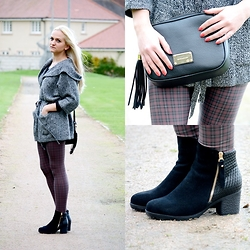 Angelika Martko - Sweater, Leggins, Bag, Boots - SO GOOD?