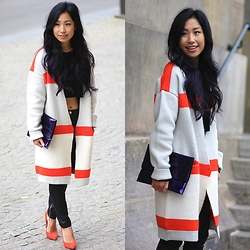 Lily T - Vila Perfect Coat - MATCHY MATCHY