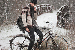 Bobby Raffin - My Blog Outfit Details - FIRST OF SNOW